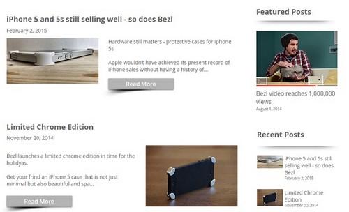 Wix Blogs Examples - BezlDesign