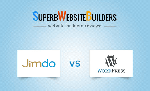 Jimdo vs WordPress