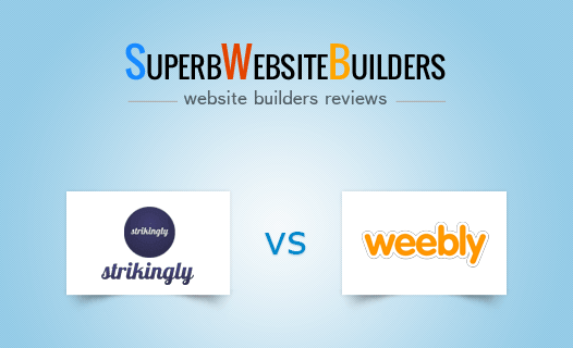 Strikingly vs Weebly