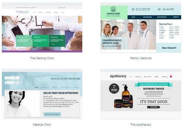 Wix Medical Templates