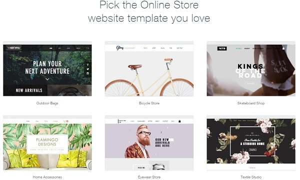Wix - Retail Website builder
