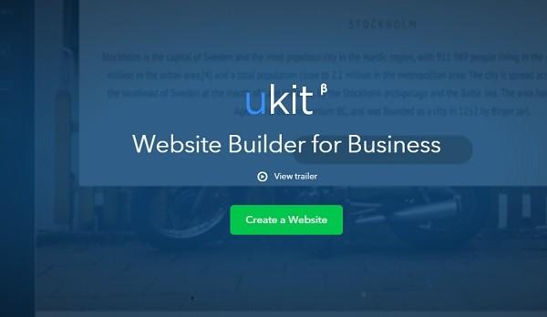 uKit site builder