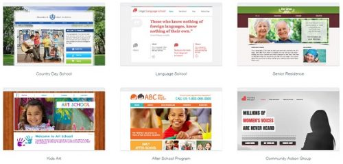 the best website builders to create a school or a teacher