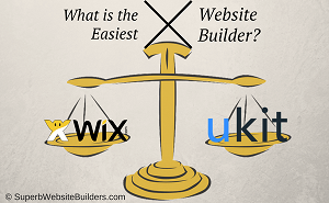 What is the easiest website builder