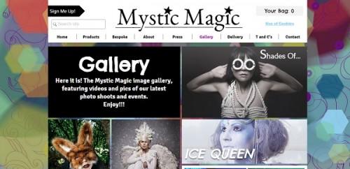 Mystic Magic - Wix portfolio example