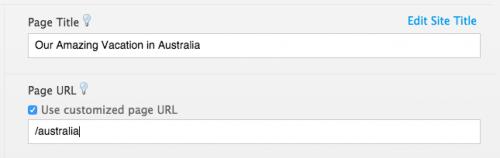 Jimdo custom URL example