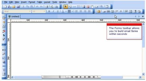 BlueVoda editor