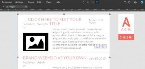 Webydo - Articles