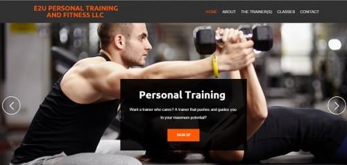 e2utraining - uKit example website