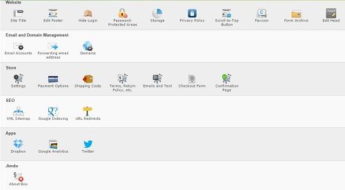 Jimdo apps