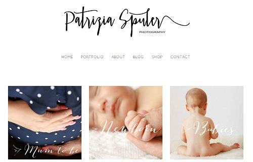 Jimdo example site - Patrizia Spuler