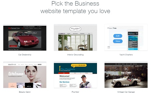 Wix Business Design