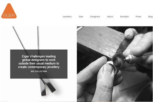 Eiger Gallery - Wix Website Examples