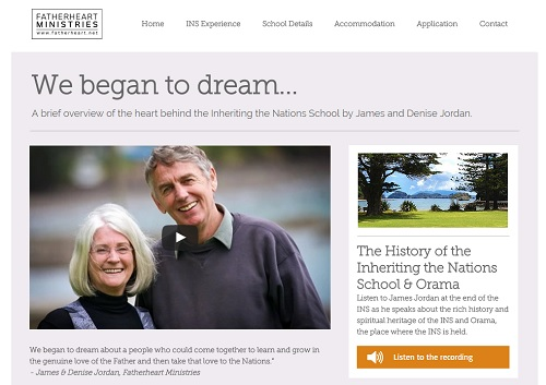 Inheriting the Nations School - Wix Website Examples