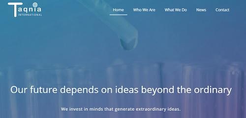 Jimdo example site - Taqnia International