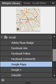 Adobe Muse Widgets