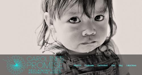 Carolines - MotoCMS example website