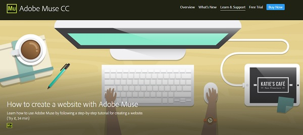 How to Create a Website with Adobe Muse