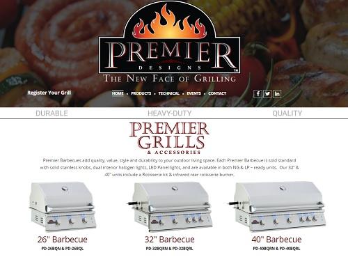 Premier-design - MotoCMS example website