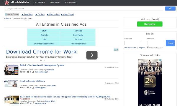 Affordable Cebu - uCoz Website Examples