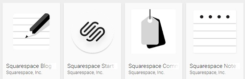 Squarespace Android Apps