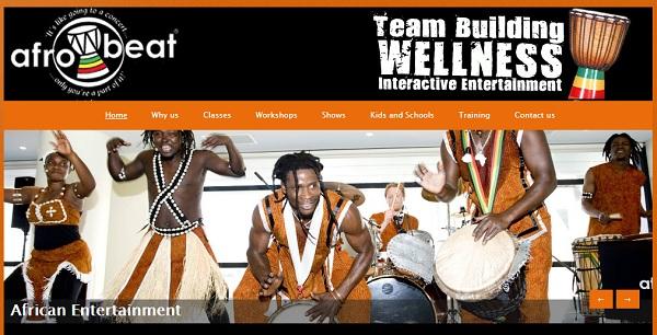 Afrobeat - Webs Website Examples