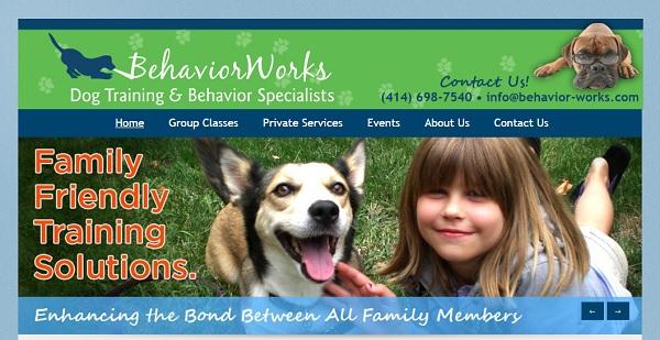 Behavior Works - Webs Website Examples