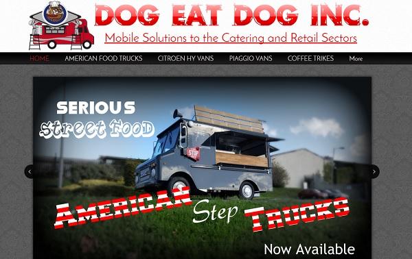 Dog Eat Dog - Webs Website Examples
