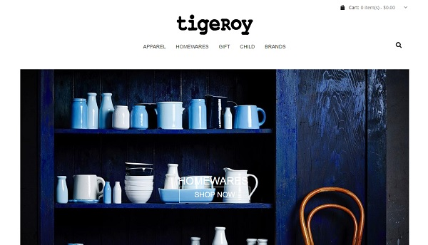 Tigeroy - Webs Website Examples