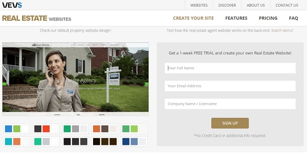 VEVS - Real Estate Website