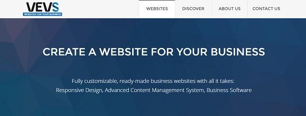 VEVS homepage