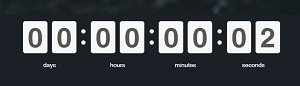 uKit Timer Widget - uKit Website Builder