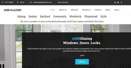 AMB Glazing - uKit Website Examples