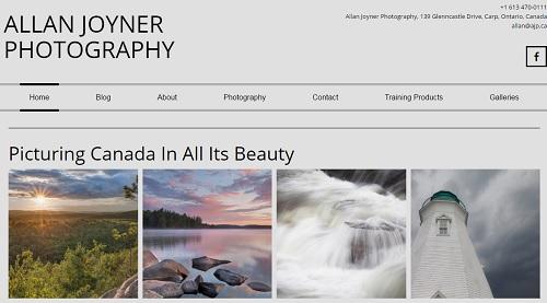 Allan Joyner - uKit Website Examples