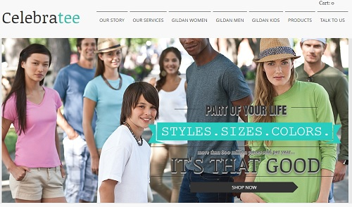 Celebratee - Wix website examples