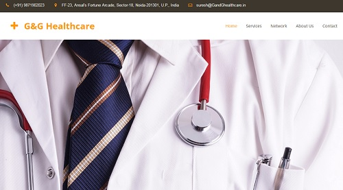 GG Healthcare - uKit Website Examples