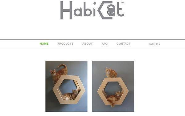 Habi Cat - Wix eCommerce Examples