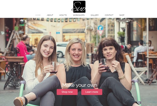 Suo Shoes - Wix website examples