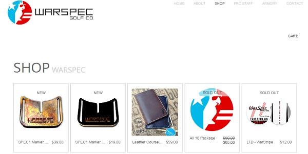 WarSpec - Wix eCommerce Examples