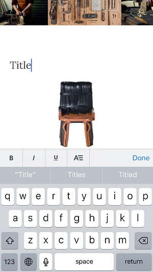 Weebly text edit  mobile
