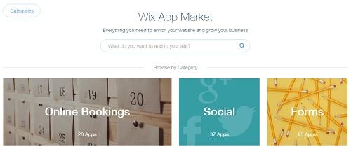 Wix AppMarket