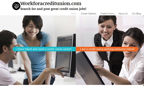 Work for a credit union - Wix website examples