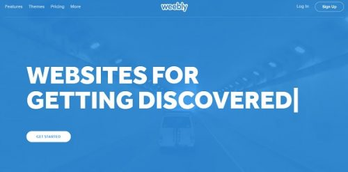 Weebly Main Page