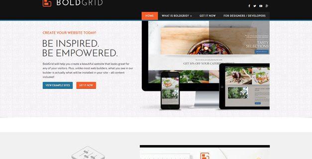 BoldGrid Website Builder