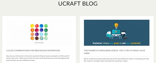 Ucraft Blog