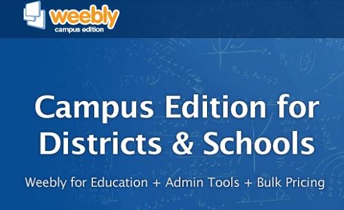 Weebly Campus Edition