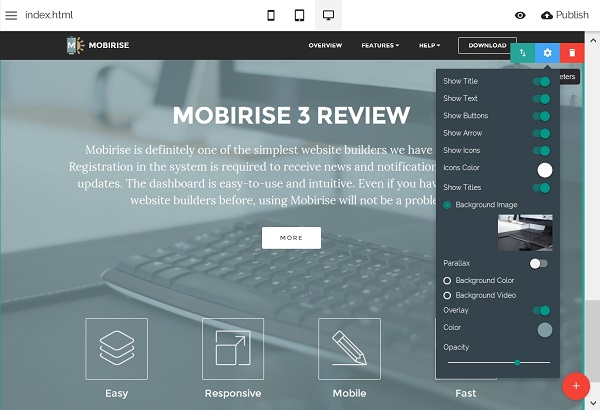 Mobirise-Page-Settings-Mobirise-Website-Builder
