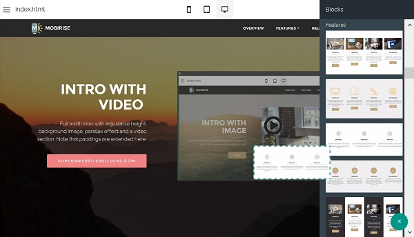 Mobirise Video-Embed-Mobirise-Website-Builder