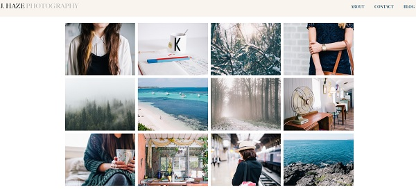 Weebly Photography Website Builder