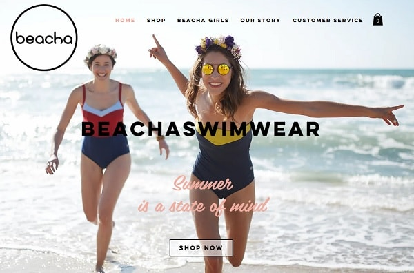 Beacha Swimwear - screenshot
